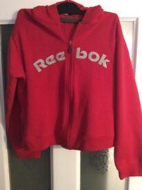 Reebok Ladies Hoody Size 12