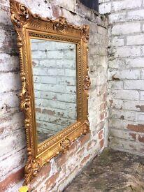 Lovely gold framed mirror