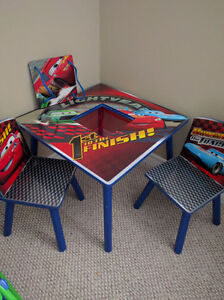 Cars brand table and chairs London Ontario image 1