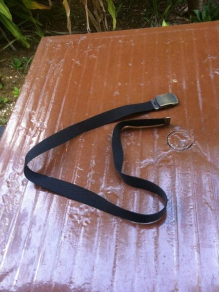 Uniform group belt 100cm in length.  In good condition.