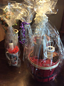 CHRISTMAS GIFT BASKETS FOR ALL AGES!