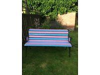 GARDEN CHAIR - Bertie Bassett pink & blue - furniture - seat