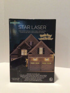 Everstar   Star Laser  Christmas Light Show Projector