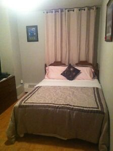 furnished bedroom for rent ( females Only )