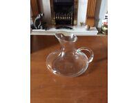 Glass jug/vase