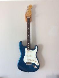 Fender Stratocaster. 1986 reissue of a 1963 model. MIJ