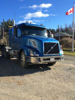 Volvo Tractor & BWS Trailer with Loader