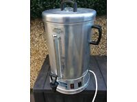 10 litre 1500 watt , 240 volt electric catering hot water tea urn boiler with coffee maker can post