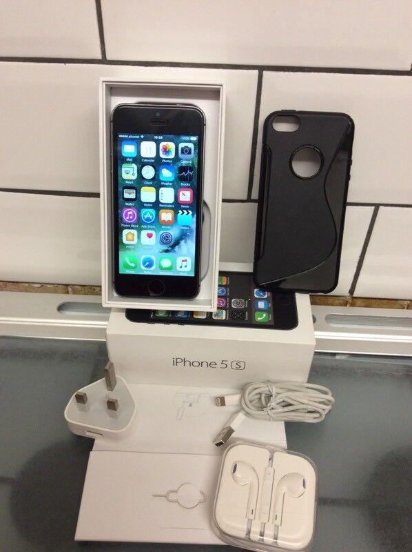 Apple iPhone 5s-16gb unlocked-space grey
