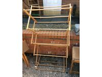 VINTAGE/RETRO WOODEN 4 TIER DRYER