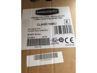 Rangemaster Classic 100cm Black/Chrome Cooker Hood.