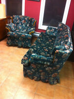Clean  couch and chair
