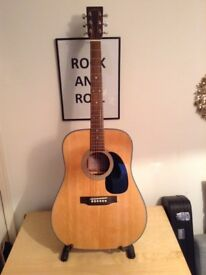 Sigma DM1-ST solid top acoustic guitar