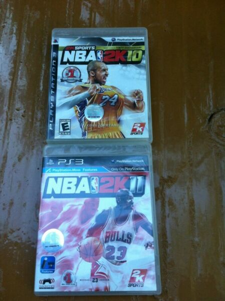 PS3 games. Each $12 or take the two for $20
