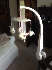 Mamas And Papas Musical Cot Mobile - Excellent Condition!
