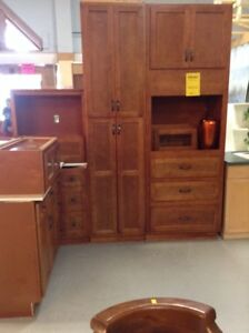 Shaker style solid wood kitchen Fonthill restore