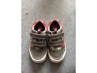 Used twice Clarks green jets boys shoes £12