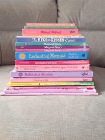 Girls / Kids Books Toys - Mermaid, Ballerina, Disney, Barbie, Fairy, a Bunny, Love