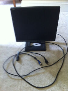 DELL Model E17FP LCD flat screen Monitor