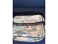 Official marvel comics character messenger bag