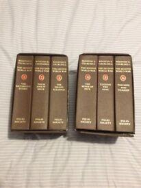 Winston Churchill's Second World War Books.
