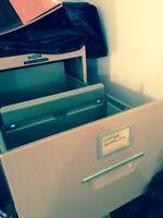 Steel 5 Drawer Office Filing Cabinet