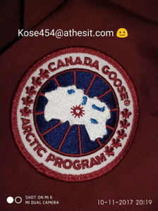 AUTHENTIC CANADA GOOSE CHATEAU JACKET ( PRE-OWNED )