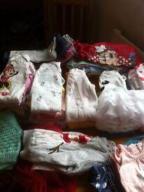 Big bundle of baby girls clothes