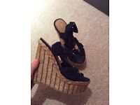 River island limited edition wedges