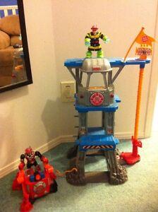 Perfect Christmas Gift!  Rescue Heroes Toy Set-$75 obo Edmonton Edmonton Area image 6