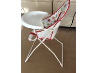 Kiddicare high chair very good condition