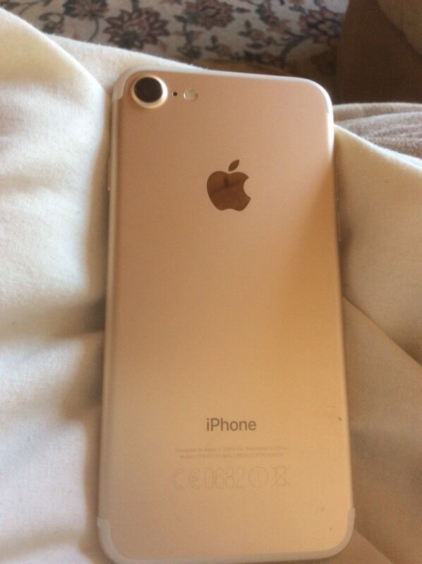 Apple iPhone 32GB Gold Unlockedin Paignton, DevonGumtree - As New condition Bought directly from Apple so unlocked to all networks Boxed with all new accessories New Spigen Case Under Apple Warranty as purchased on the day of release in September All enquiries to 07521 140767 please