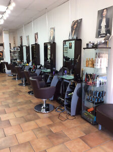 Hair Salon furniture (double & single sided stations, chairs)
