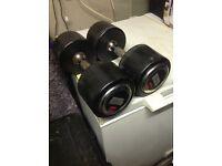 18kg hammer strength Dumbbells