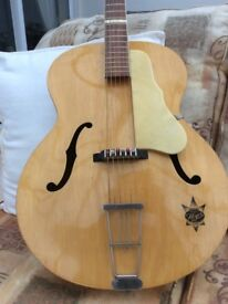 GERMAN 50s HOYER Archtop, rare, Vgc