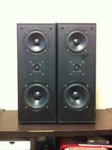 2xWelling GA-603B front speakers and 1 RCA SP9950B center speaker Henley Hunters Hill Area Preview