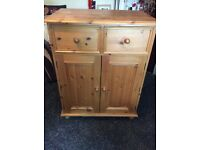 Solid pine kitchen farmhouse dresser unit