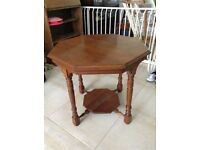 Lovely Octagonal Coffee Table