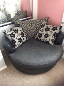 Swivel armchair- the love seat