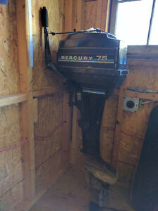 10 HP 2 stroke Mercury Outboard Moter