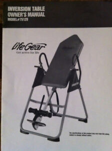 Inversion Table (used)
