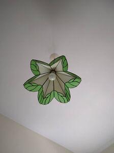 LAMPE SUSPENDUE STYLE TIFFANY (MONTRÉAL)