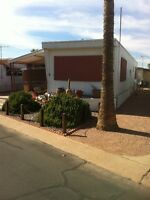 Snowbirds Mobile home in Apache Junction AZ 55+ Gated community