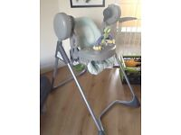 Mama's and papas adjustable height swing