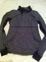 Lululemon coco pique pullover size 8
