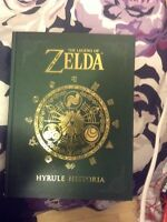 The Legend of Zelda Hyrule Hystoria Book LIKE NEW