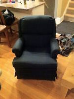 Comfortable Cloth Rocker Chair For Sale