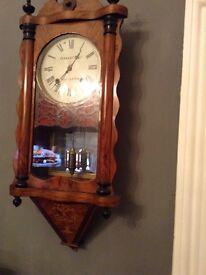 Vintage antique stunner working wall clock