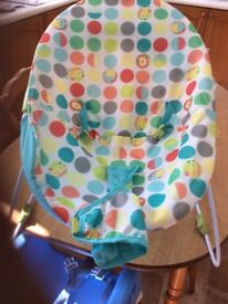 Sturdy CHADD VALLEY baby bouncer hardly used so in great condition.