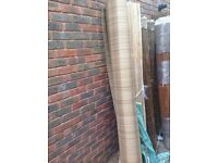 Artificial rattan weave screening 2m high x 3m long NEW